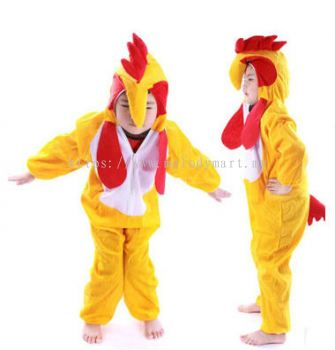 Kids rooster jumpsuit / pyjamas