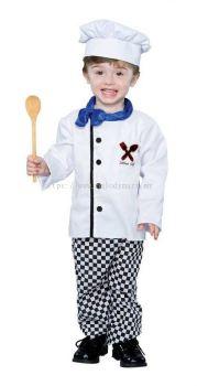 Little Chef kids costume