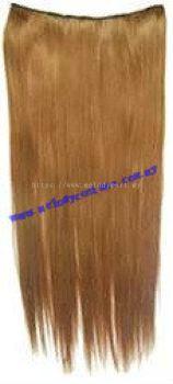 Straight Hair Bronze Hair Extension - 1021