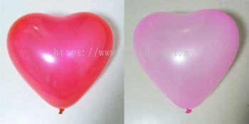 5 inch Heart Shape Latex balloon