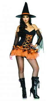 Witch Halloween Costume - 1012 0106 01