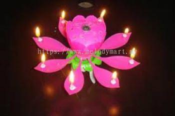 Lotus Candle - 2330 1003