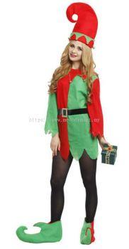 Christmas Elf Lady - 1234 4643 11