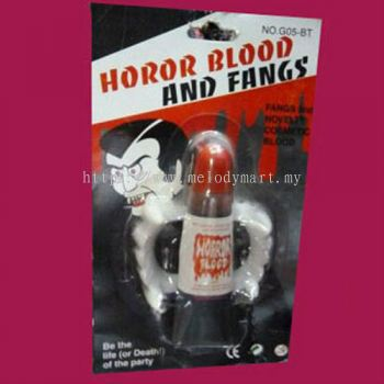 Horror Blood and Fangs - 7014 0501 01