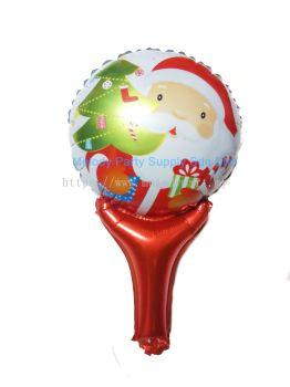 Foil 50*30 Hand-held Santa