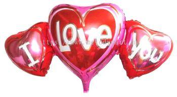 Foil 96*49 Tri Heart ILU
