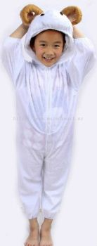 Kids sheep jumpsuit / pyjamas