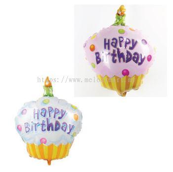 Foil 40*30 Cupcake HB
