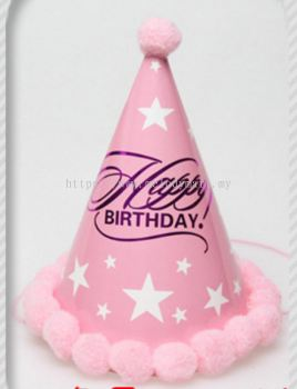 Party Hat 1505 Pink Star 2006 1505 08
