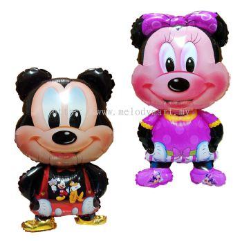 Foil Mickey/Minnie