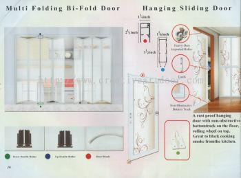 Multi Folding Bi-Fold Door & Hanging Sliding Door