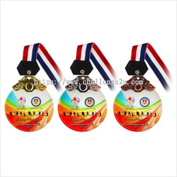 Crystal Hanging Medal (CT95)