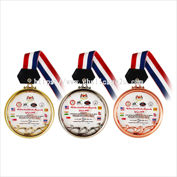 Crystal Hanging Medal (CT96)
