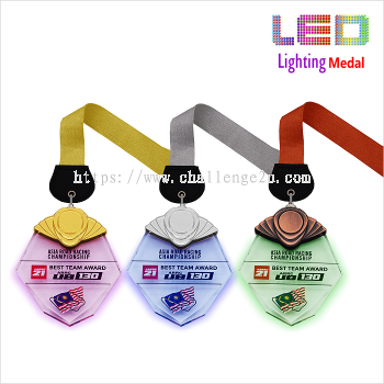 Crystal Hanging Medal (CT97)