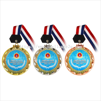 Crystal Hanging Medal (CT98)