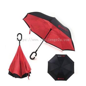 Inverted Umbrellas (U001)