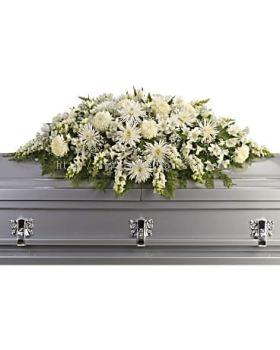 coffin top spray
