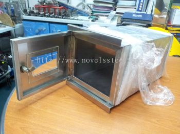 Stainless Steel Letter Box 001
