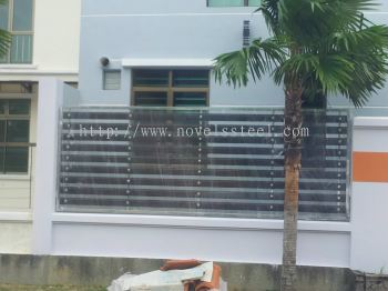 Stainless Steel Fence 005
