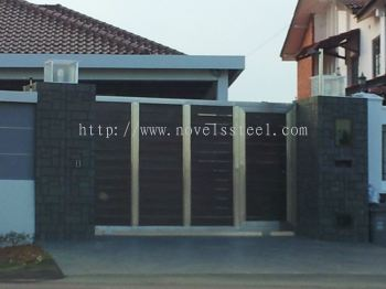 Stainless Steel main gate 042