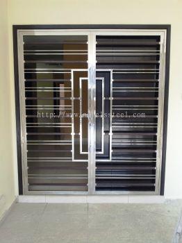 Stainless Steel Double door 005