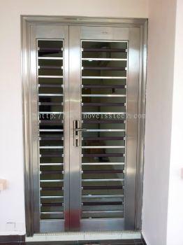 Stainless Steel Double door 014