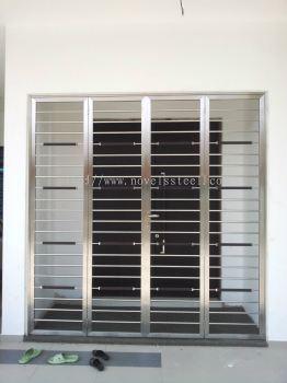 Stainless Steel Double door 020