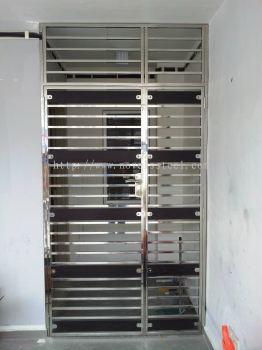 Stainless Steel Double door 025