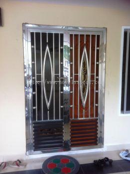 Stainless Steel Double door 028