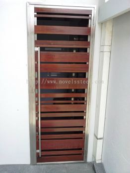 Stainless Steel Single door 013