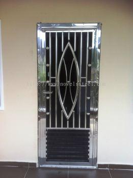 Stainless Steel Single door 020