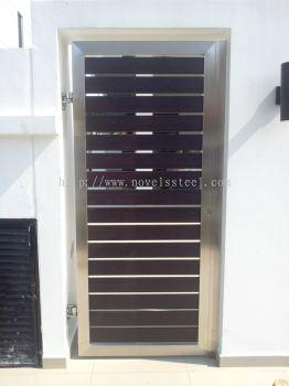 Stainless Steel Main single gate door 011