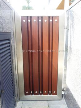 Stainless Steel Main single gate door 012