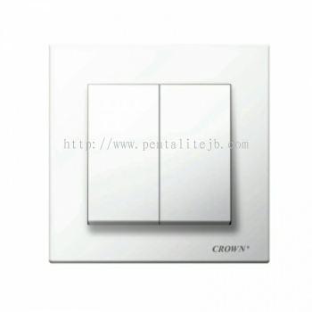 CE8021B 2G 1W / CE8022B 2G 2W Flush Switch