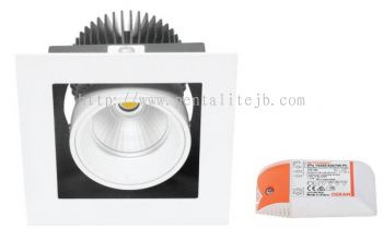 13W K01120 LED Square Downlight Series
