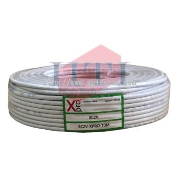 XPRO 3C2V COAXIAL CABLE 70M
