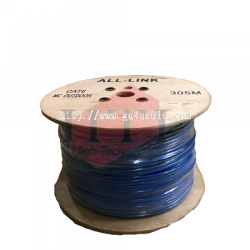 ALL-LINK CAT6 4PAIR UTP MULTICORE CABLE 300M