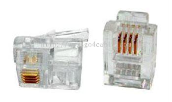 RJ11 Modular Plug 4P4C