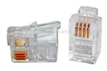 RJ11 Modular Plug 6P4C