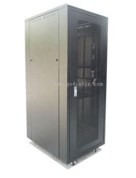 18U 600(W) X 1000(D) X 990(H) PERSPEX DOOR RACK MOUNT CABINET