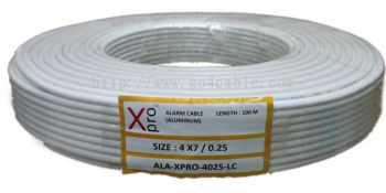 ALARM CABLE Xpro 4Core 0.25 LC