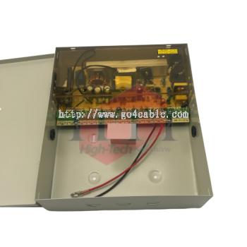 Power Supply 12V 15Amp 12Output