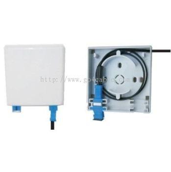 Fiber Wall Socket 1/2P SC Connector