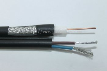 RG59 E80 Coaxial Cable with VDE 2 Core 100M