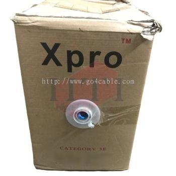 CAT5E UTP XPRO CAT5E 305M FULL COPPER LAN CABLE