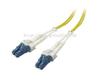 LC-LC 9/125UM Fiber Optic Patch Cord DUPLEX 3MTR