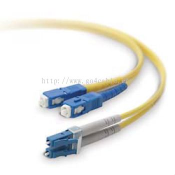 SC-LC 9/125UM Fiber Optic Patch Cord DUPLEX 3MTR