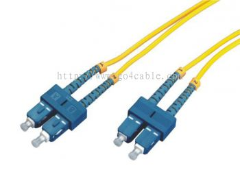SC-SC 9/125UM Fiber Optic Patch Cord DUPLEX 3MTR