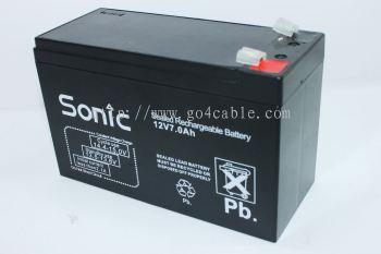 Battery 12V7.2AH SONIC