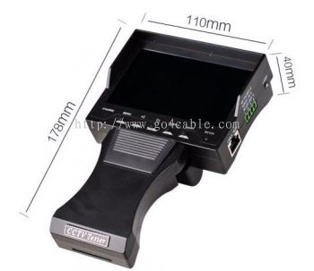 "Handheld 4.3""TFT Color LCD Monitor CCTV Tester"